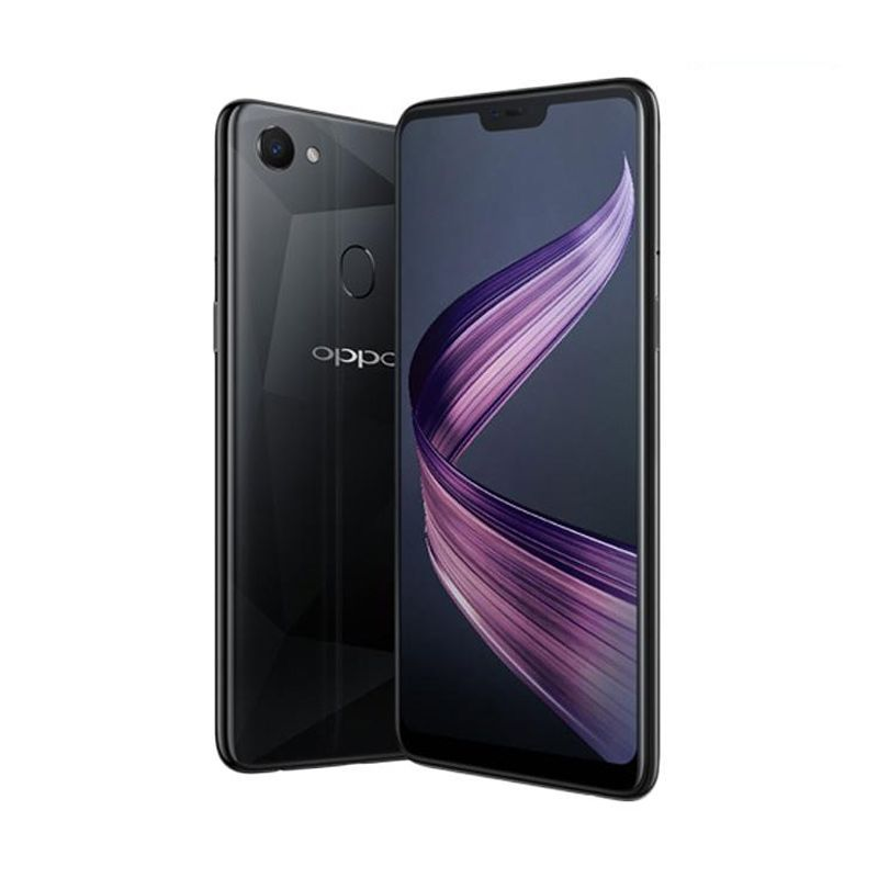 OPPO F7 Pro Smatphone - Diamond Black [128GB/ 6GB]