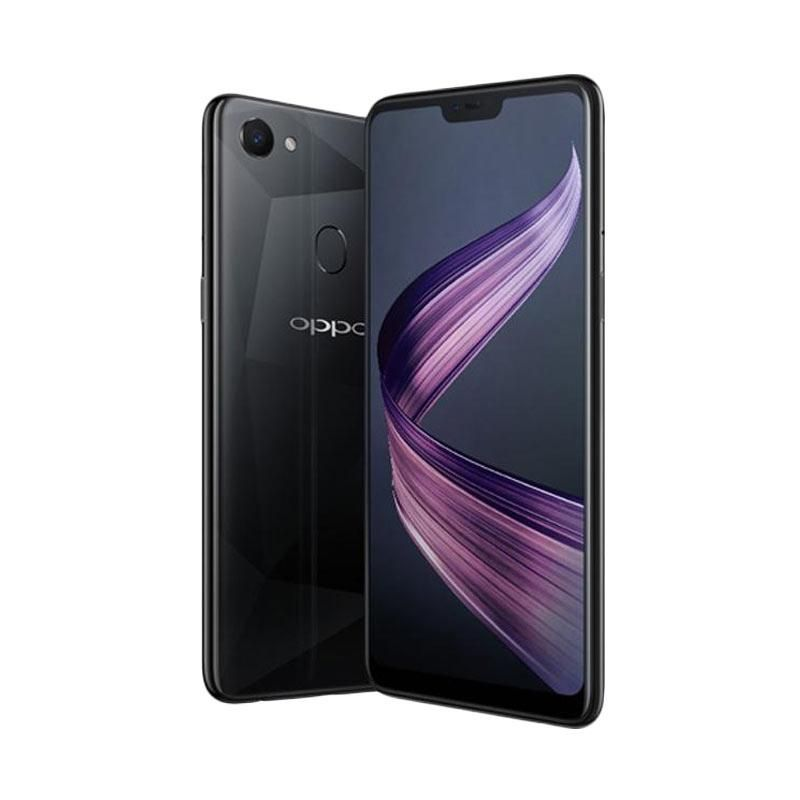 OPPO F7 Smartphone - Diamond Black [64GB/ 4GB]