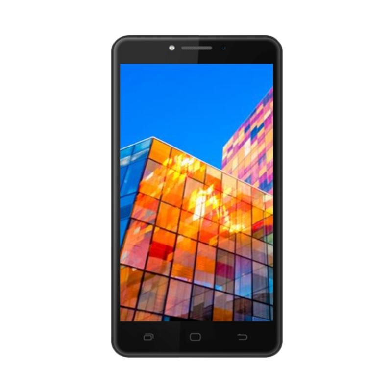 Smartfren Andromax L Smartphone - Black [16GB/ RAM 2GB]